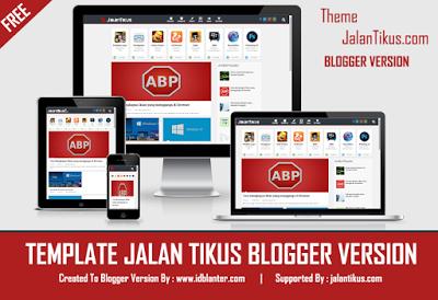 Jalantikus Responsive Blogger Template