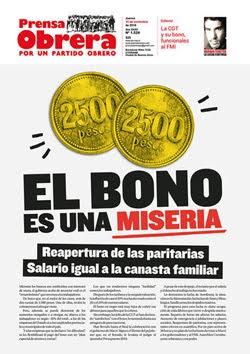 - - - - - - - Prensa Obrera Nº 1528 - - - - - - -