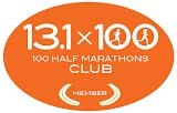 100 Half Marathons Club Member