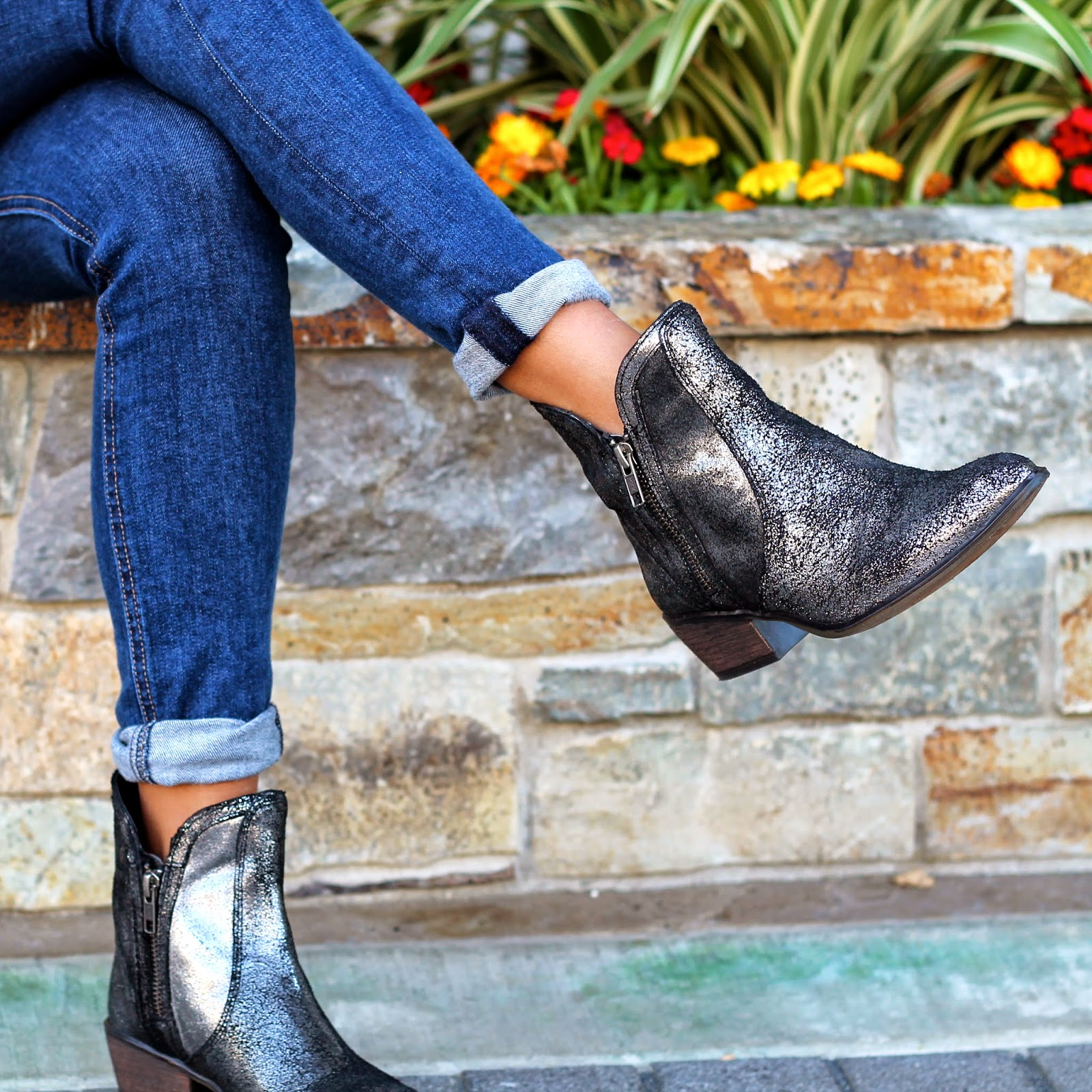 fall, outfit, how-to, piperlime, booties, hats, denim guide