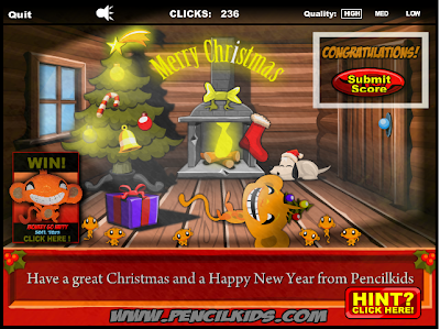 http://www.pencilkids.com/the-vault/monkey-go-happy-christmas-flash-game/
