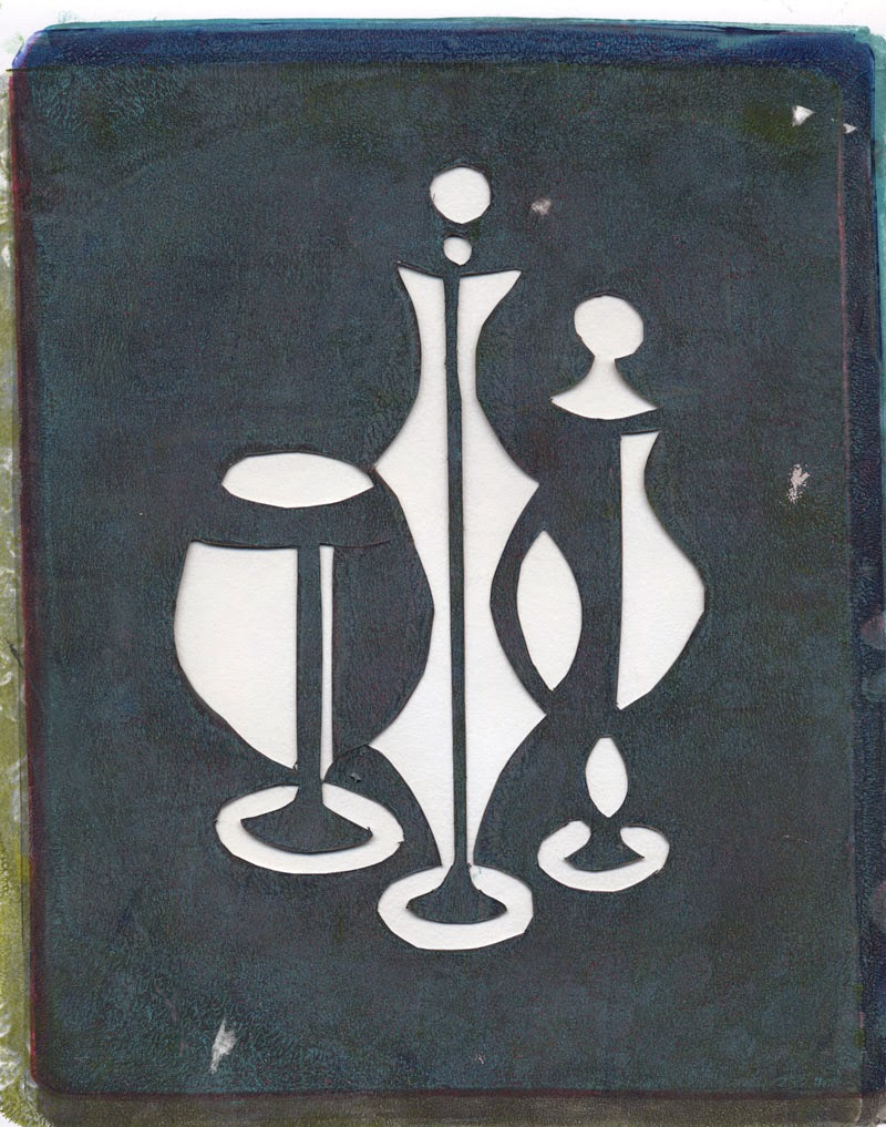 My handmade stencil