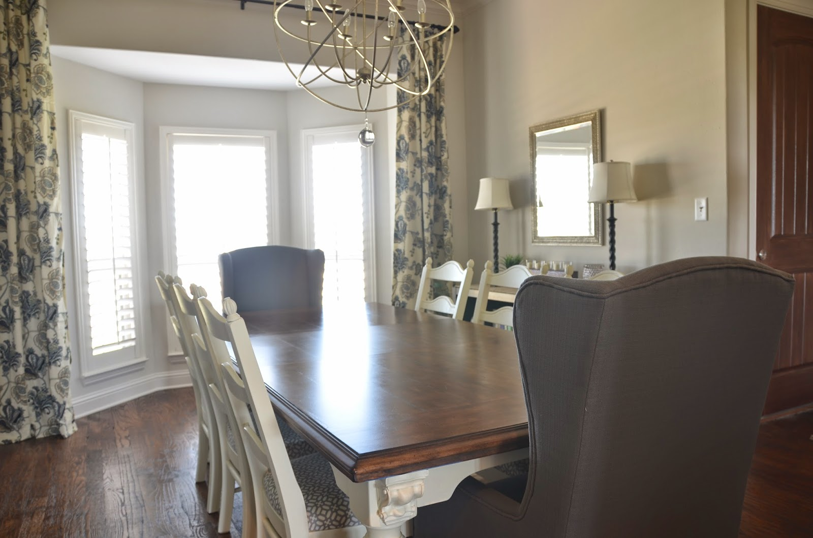 the good life dining table chalk paint makeover