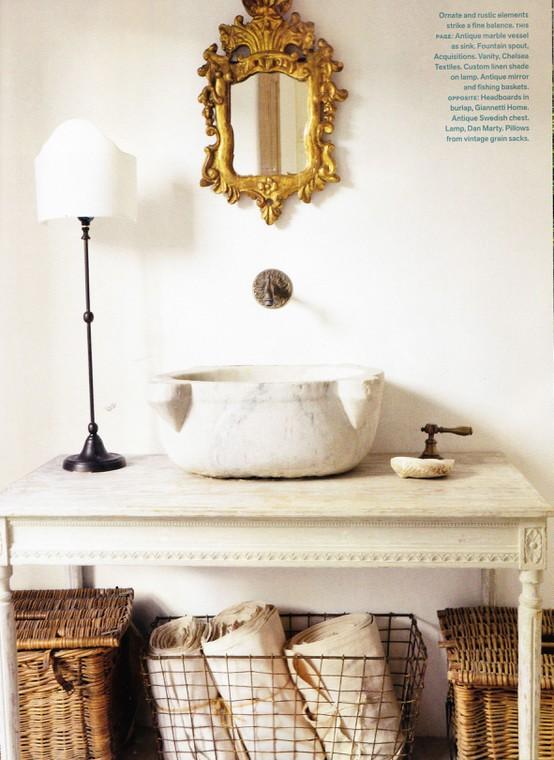 To da loos: Wallmount sink faucet backsplash ideas plus tips for ...