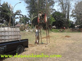 Sumur Bor di RTH Taman HEULANG -  Bogor