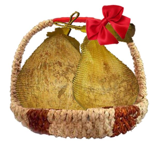giỏ quà dừa sáp