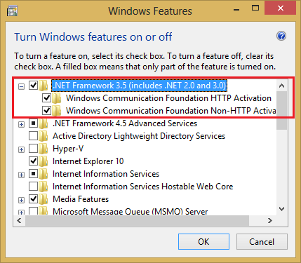 anak rantau: Install .NET Framework 3.5 di Windows 8 dan 8.1 Fix Error