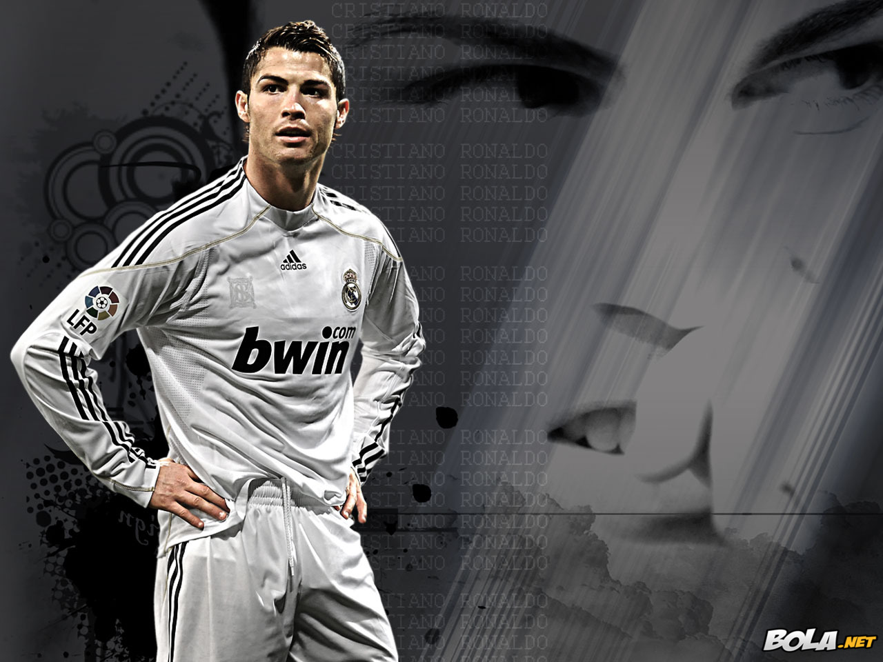 cristiano ronaldo real madrid wallpaper | football realm