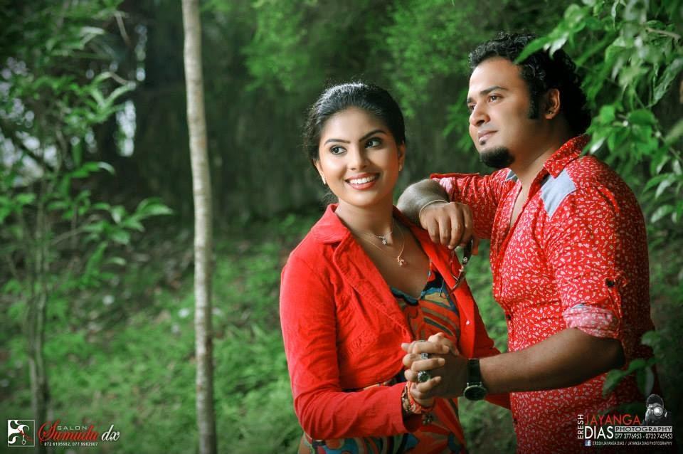 Samadhi (malee) & Sanjaya Meevitha Paper Shoot (2014-04-26)