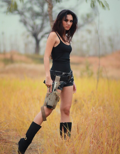 Foto Maria Aya cowboy
