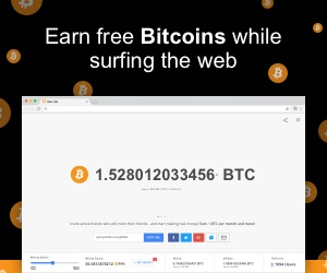Earn Bitcoin With Your Browser
