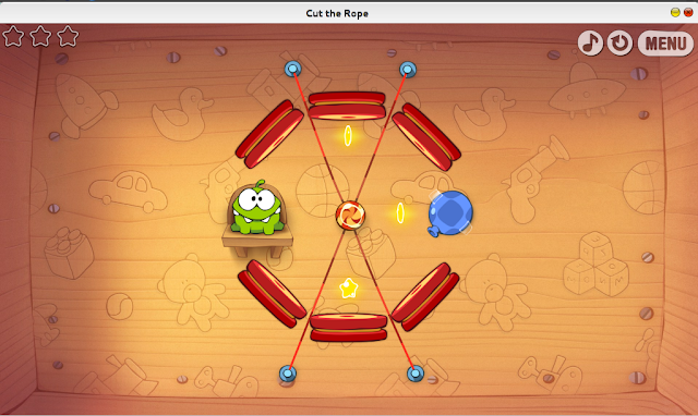Install Game Cut the Rope For Google Chrome