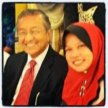 Me & Tun Mahathir