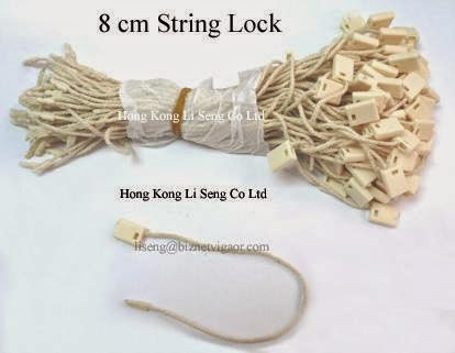 Cotton Rope Hang Tag String Lock Pin Wholesale - Hong Kong Li Seng Co Ltd