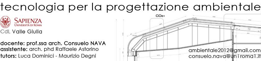 Tecnologia per la Progettazione Ambientale