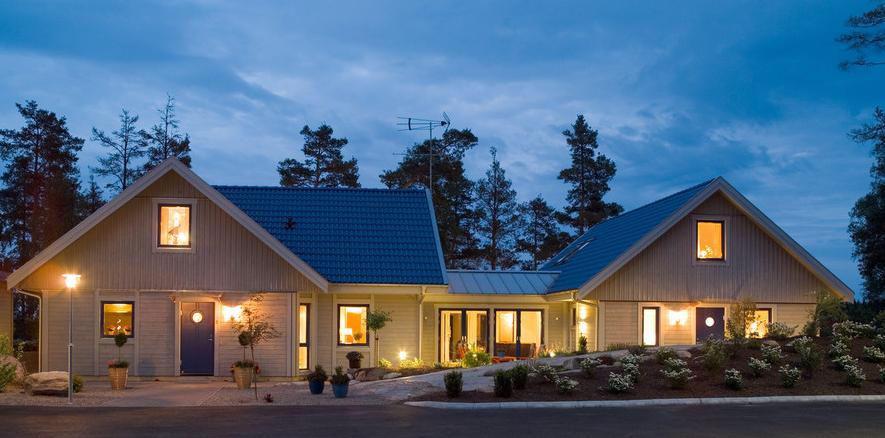the country corner la casa svedese