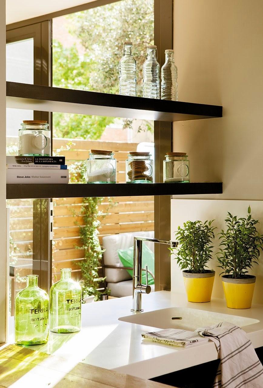 Soluciones para optimizar espacios reducidos decorar tu casa es - Soluciones para espacios pequenos ...
