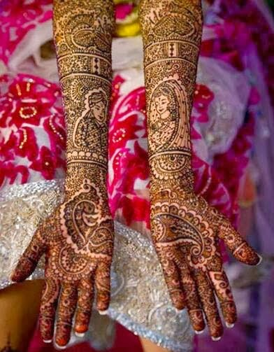 Mehndi Party Pictures : Exclusive mehndi designs for young girls from