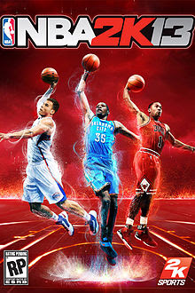 NBA 2013 Cover poster