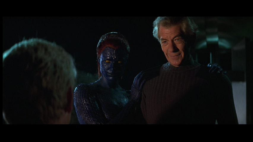 Cody Hamman displays tolerance and Film Appreciation for X-Men  2000  X Men Mystique Turns Human