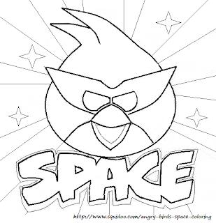 Tranh tô màu Angry Bird 2013
