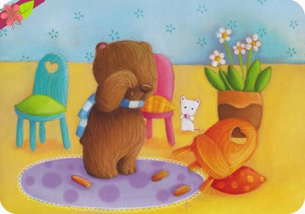 """""""Boucle d'or et les trois ours"""" d'Elen Lescoat"""