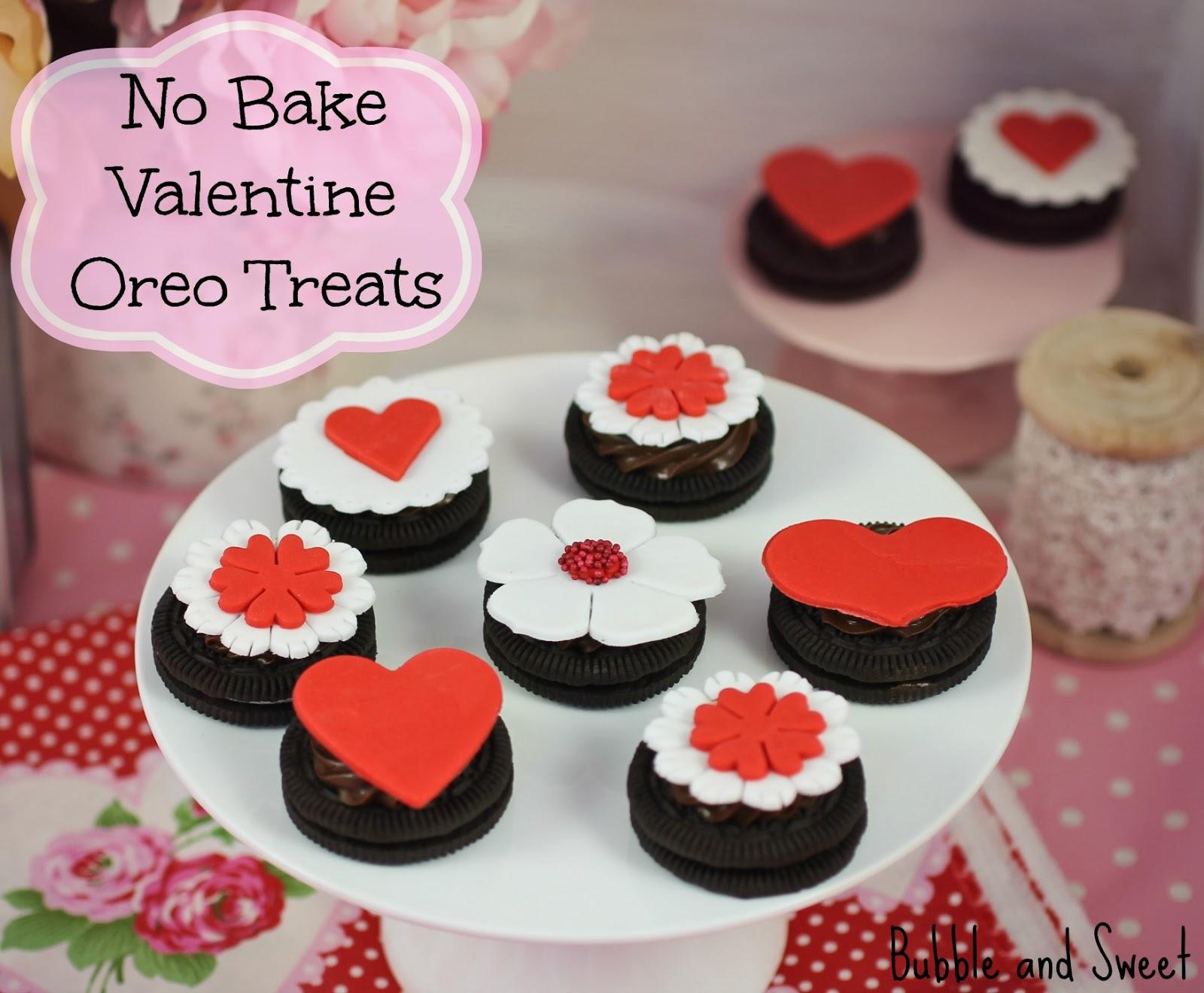 valentine oreos no bake easy to make treats - Easy Valentines Treats
