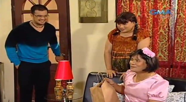 Gma Network Bubble Gang's CheChe Bureche Skit Michael V. as Bureche Ogie as CheChe Antonio as Daddy