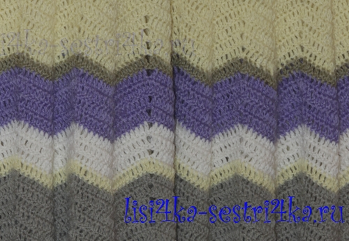 Схема вязания воротника хамут