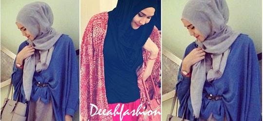 Zaskia Mecca Kasual Jilbab Inspiration Style