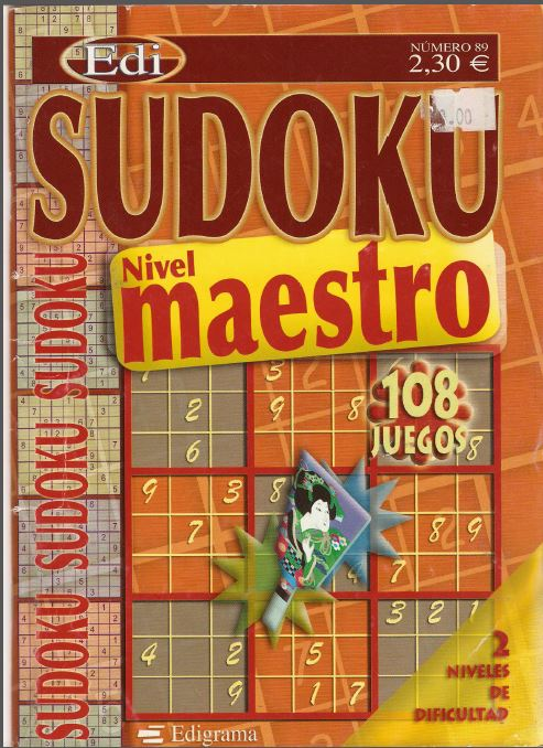 sudoku para resolver