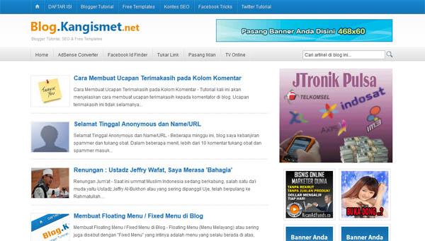 blog lama kang ismet
