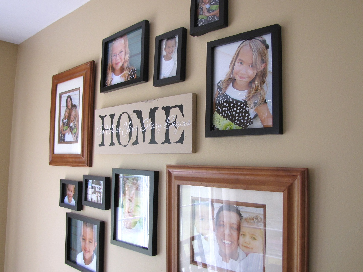 Priddy Haven Project How To Hang A Photo Collage