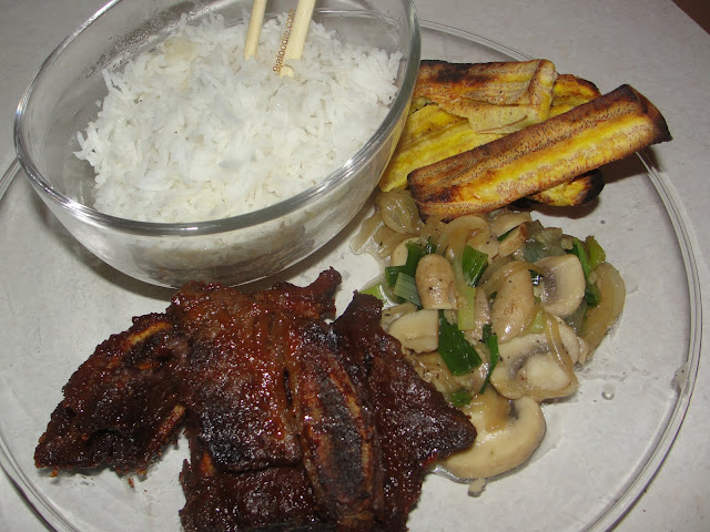 Modern african cuisine ribs african asian fusion for Afro fusion cuisine