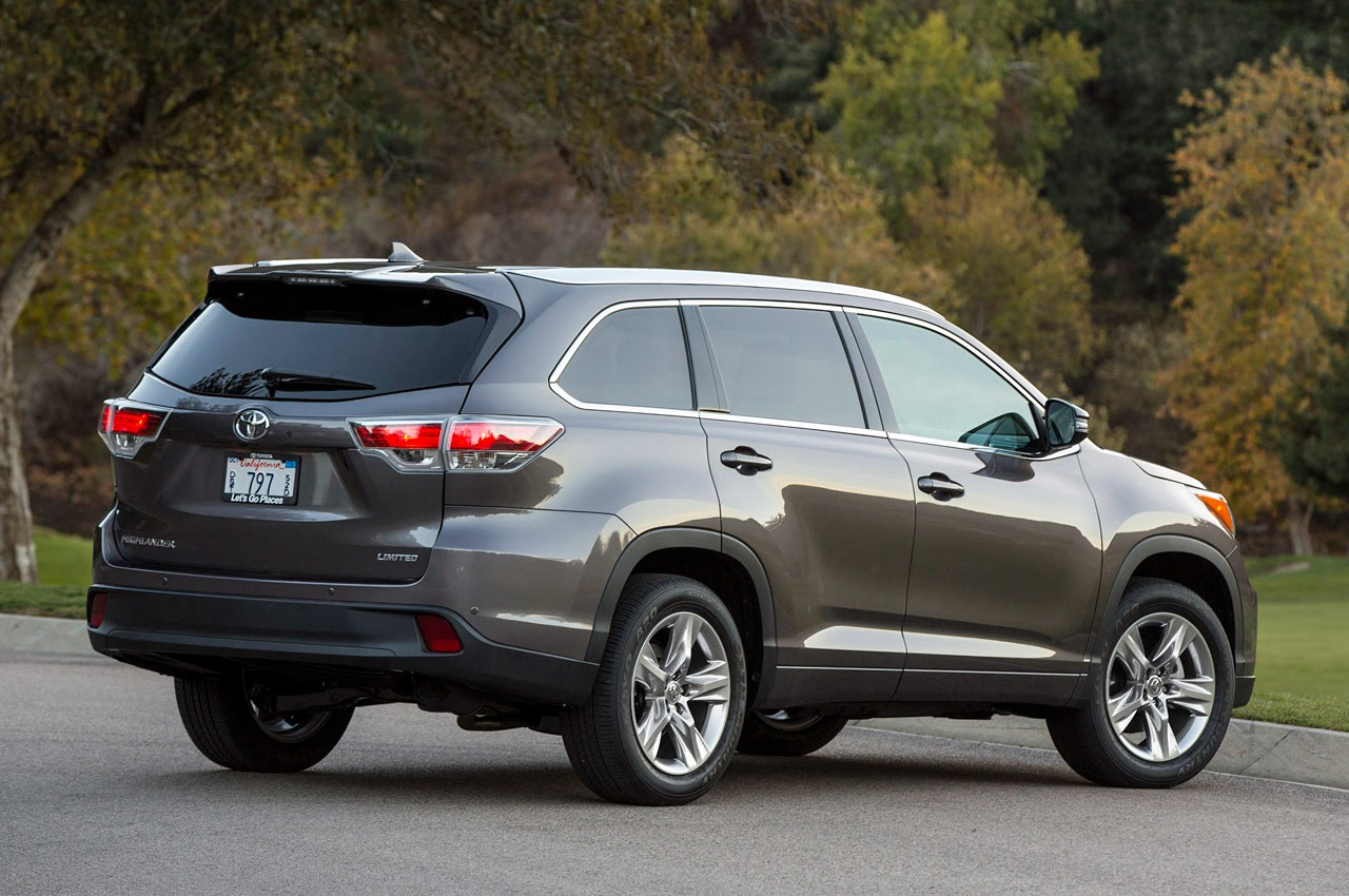 automotiveblogz 2014 toyota highlander first drive photos