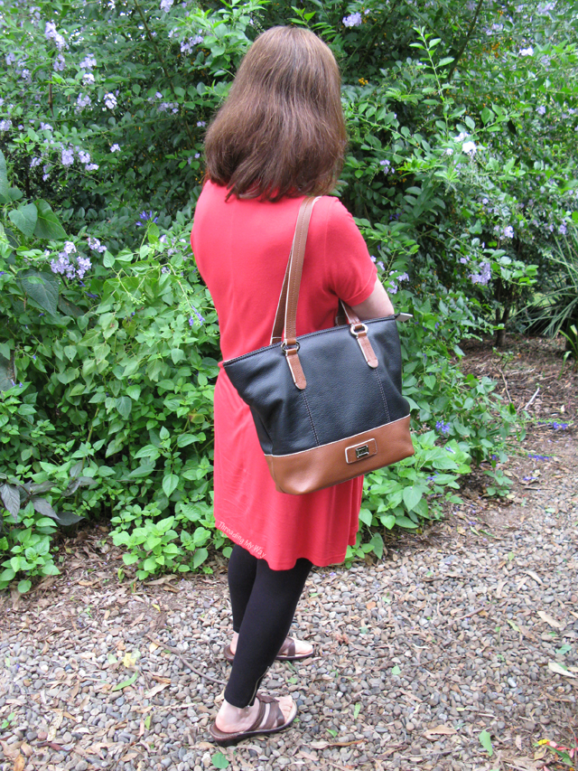 Cellini Leather Handbag ~ Threading My Way
