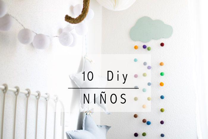 10 DIY para los niños
