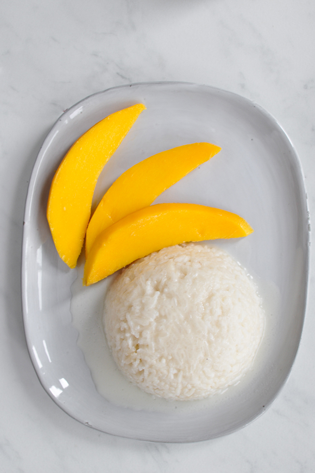Mango Sticky Rice 4 | Thailand Recipes