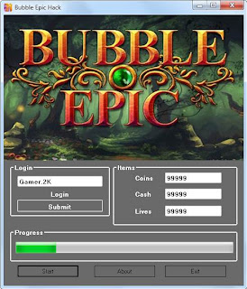 bubble epic hack