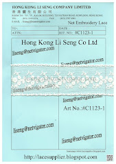 Net Embroidery Lace Manufacturer - Hong Kong Li Seng Co Ltd