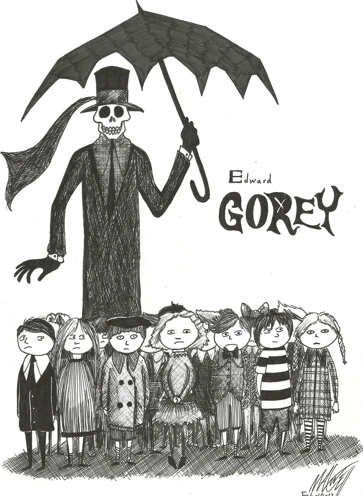 Edward Gorey. Los pequeños macabros