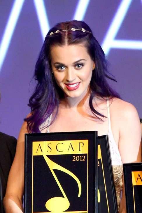 Kate Perry at ASCAP pop awards