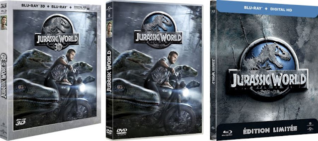Jurassic World en DVD et Blu-ray