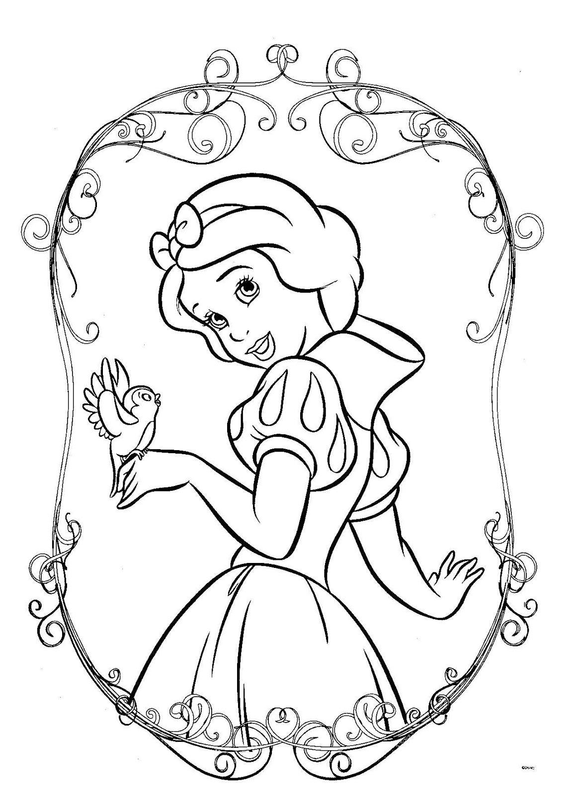 Dibujos para Colorear, Pintar , imprimir.....: Princesas ...