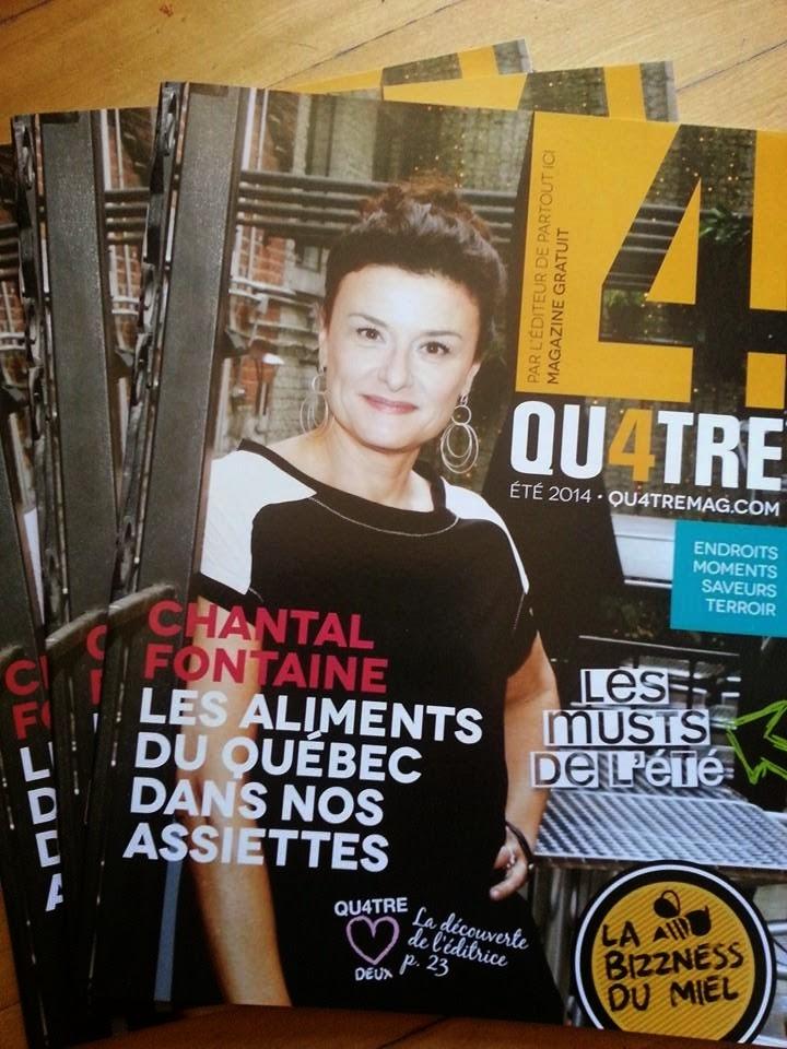 Magazine Qu4tre - Juin 2014