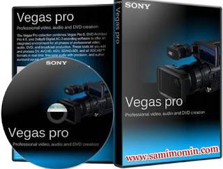 Sony Vegas 10.0C (32 bit) with Crack Full