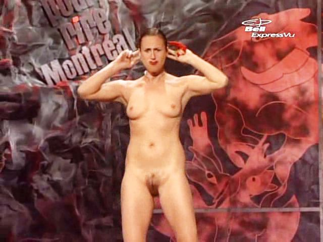 Naked Woman Magic Trick 121