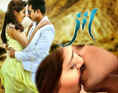 Gopichand and Rashi Khanna in Jil movie stills