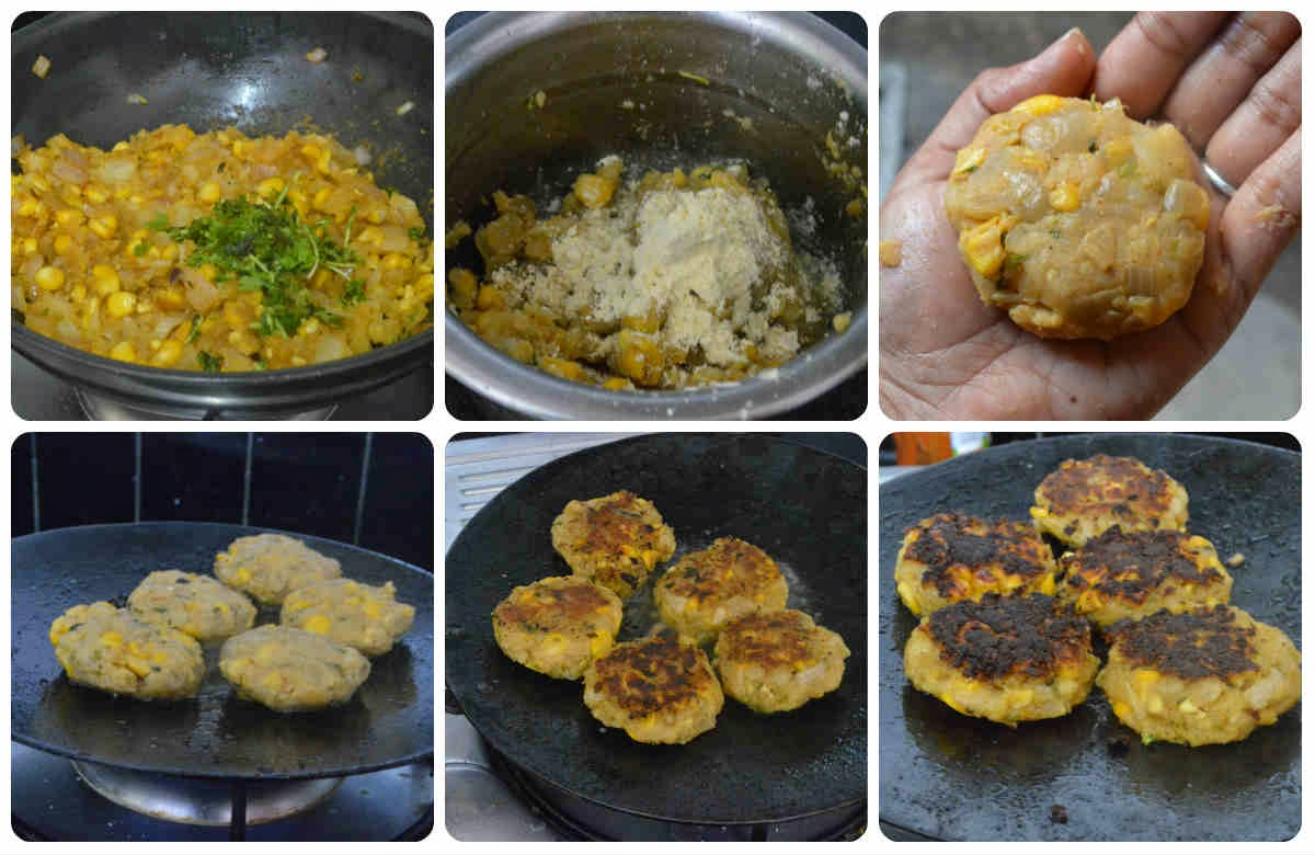 corn cutlet