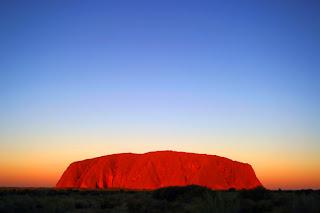 Uluru lo mejor del turismo en Australia